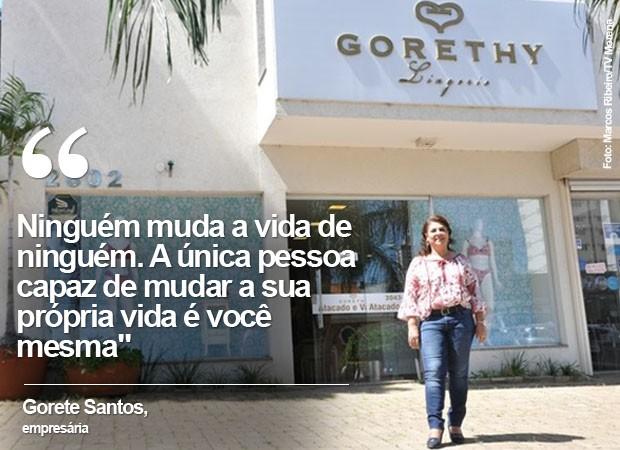 Gorete Santos, empresária do MS (Foto: Marcos Ribeiro/TV Morena)