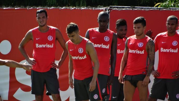 Inter treina no CT do Parque Gigante (Foto: Tomás Hammes / GloboEsporte.com)