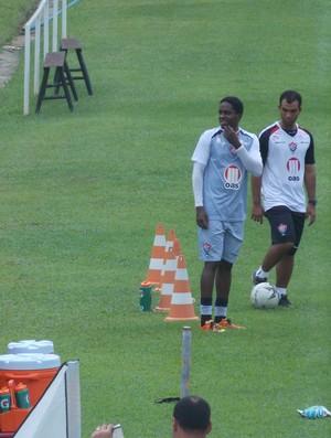 Marcelo Nicácio - treino Vitória (Foto: Rafael Santana)