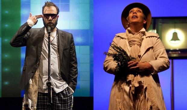 Danilo Grangheia em cena da peça 'Sit Down Drama' (Foto: arquivo pessoal)