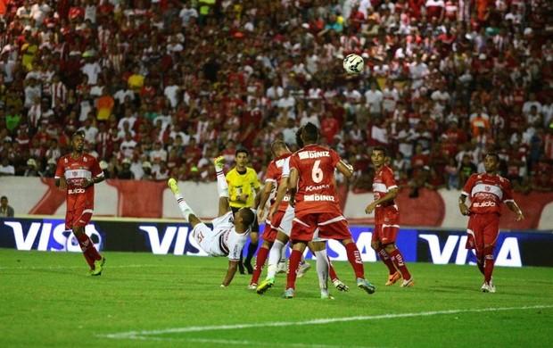 CRB x São Paulo, no Rei Pelé (Foto: Jonathan Lins/G1)