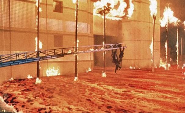 'Volcano - A Fúria' usou componente de milkshake para produzir lava (Foto: Divulgação / Reprodução)
