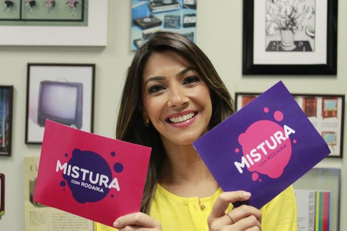 Cris Silva Mistura com Rodaika (Foto: Gabriela Haas/RBS TV)