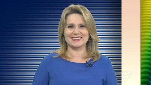 Vanessa Faro apresentadora do Tribuna Esporte (Foto: Reprodução / TV Tribuna)
