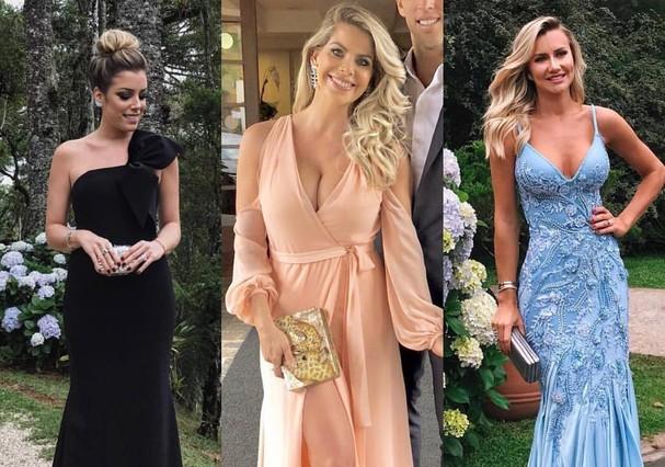 Looks das famosas no casamento de Tici e Tralli (Foto: Instagram/Reprodução)