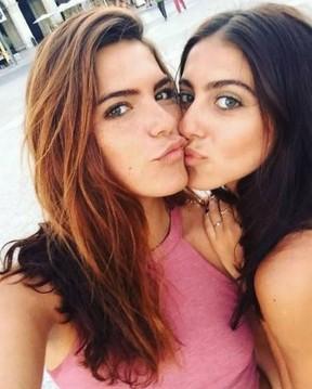 Mariana Goldfarb e a irmã, Isabela (Foto: reprodução/instagram)