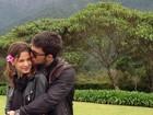 Milena Toscano posta foto em clima de romance com o namorado