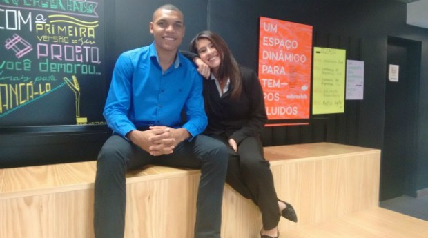 Ana Luiza Guimarães e Carlos Chesman (Foto: Divulgação)