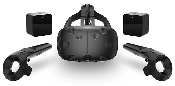 Tecnologia que segue os movimentos do usuário no HTC Vive permite simulações mais imersivas de realidade virtual (Foto: Divulgação/HTC) (Foto: Tecnologia que segue os movimentos do usuário no HTC Vive permite simulações mais imersivas de realidade virtual (Foto: Divulgação/HTC))