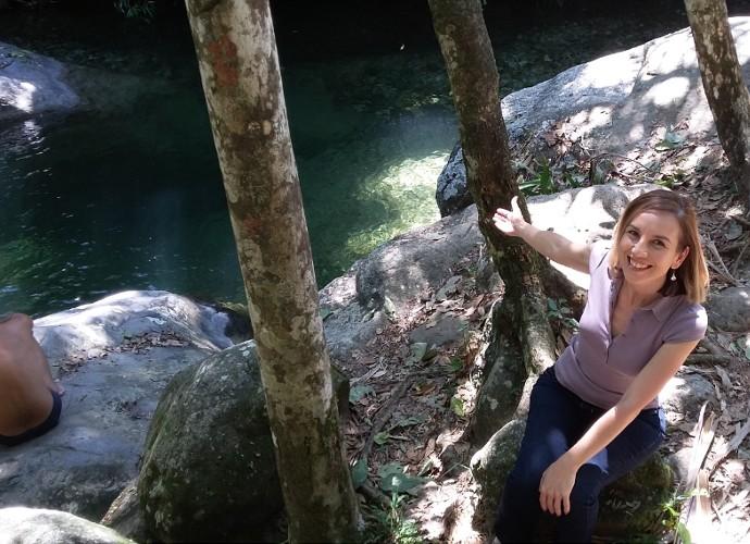 O Poço das Esmeraldas é uma das raridades naturais de Resende (Foto: Rio Sul Revista)