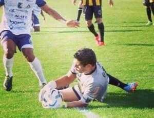 Douglas, goleiro, Volta Redonda, Ceará (Foto: Ricardo Azevedo - Jornal Novo Tempo)