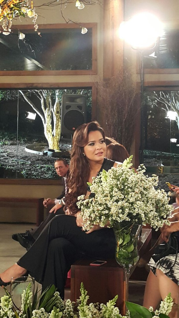 Gretchen e Carlos Marques se casam (Foto: EGO)