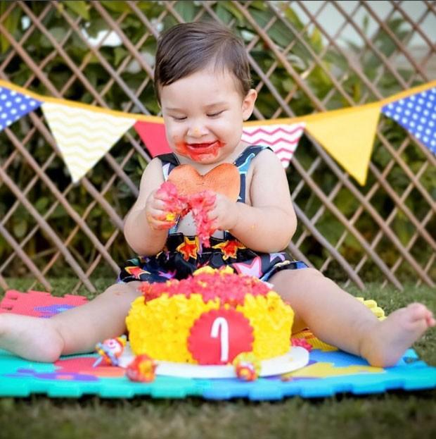 Salvattore, filho de Antônia Fontenelle celebra 1 ano (Foto: Reprodução)