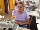 Inspirado em pássaro, projeto muda vida de mulheres de MT com a costura