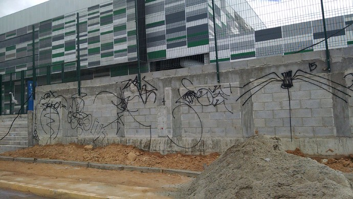 Jogos Escolares, Centro, Formação, Olímpica, obras (Foto: Juscelino Filho)