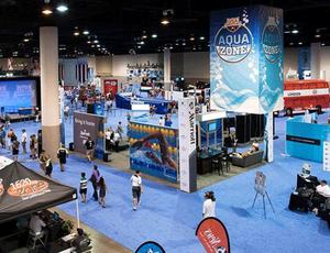 Aqua Zone, seletiva olímpica da natação americana (Foto: Divulgação USA Swimming)