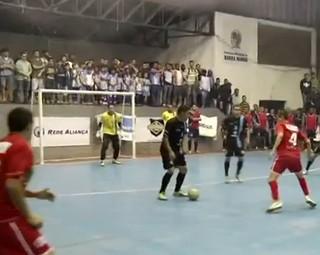 Barra Mansa vence Três Rios de 5 a 3 (Foto: Reprodução: Bom Dia Rio)