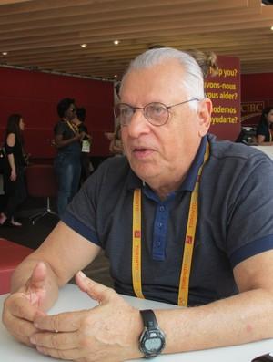 Dr. De Rose, chefe médico da Odepa no Pan de Toronto (Foto: GloboEsporte.com)