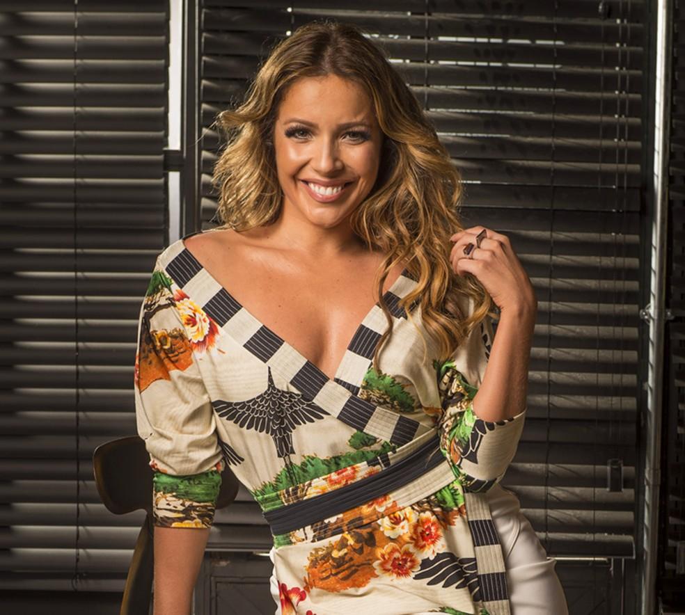 Renata Dominguez é participante do Super Chef Celebridades (Foto: Divulgação/Globo)