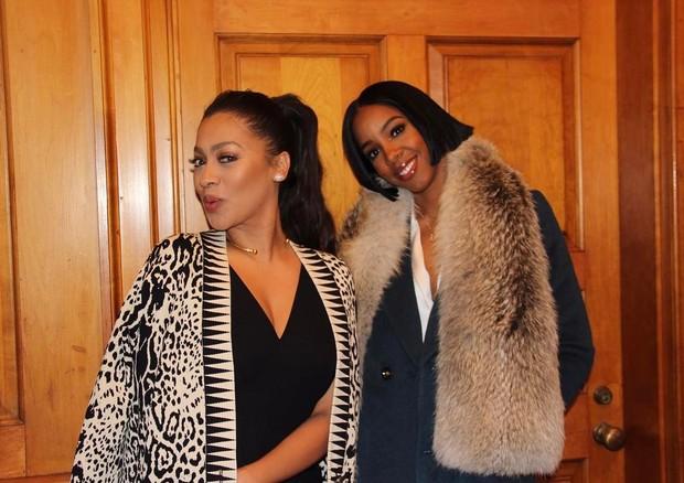 LaLa e Kelly Rowland (Foto: Reprodução)