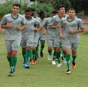 Imagine treina para a Copa São Paulo de Futebol Júnior (Foto: Divulgação)