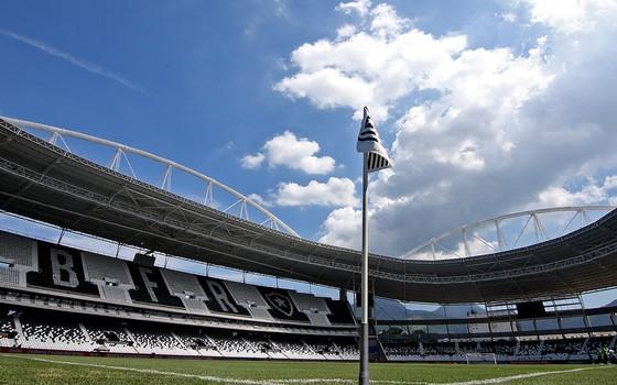 Nilton Santos, o estádio do Botafogo (Foto: Vitor Silva / SSPress)