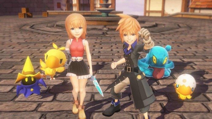 World of Final Fantasy (Foto: Divulgação)