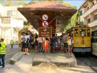Bondes de Santa Teresa recebem 2 mil passageiros no sábado