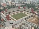 Obras na Arena da Baixada para a Copa ainda estão em fase inicial