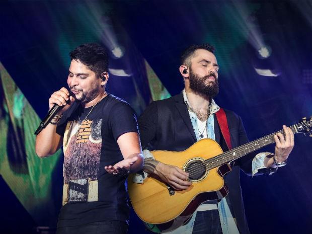 Dupla Jorge e Mateus encerra o evento com muito romantismo (Foto: Divulgação)