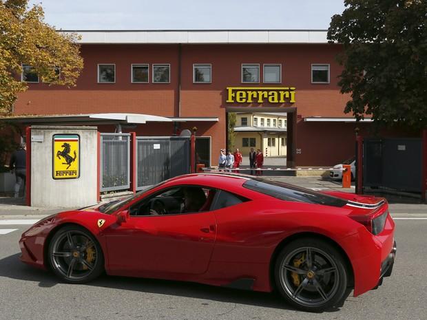 Fábrica da Ferrari, em Maranello (Foto: Stefano Rellandini / Reuters)