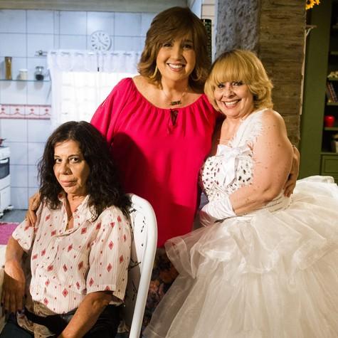 Maria Gladys, Claudia Jimenez e Débora Duarte em 'Sexo e as negas' (Foto: TV Globo)