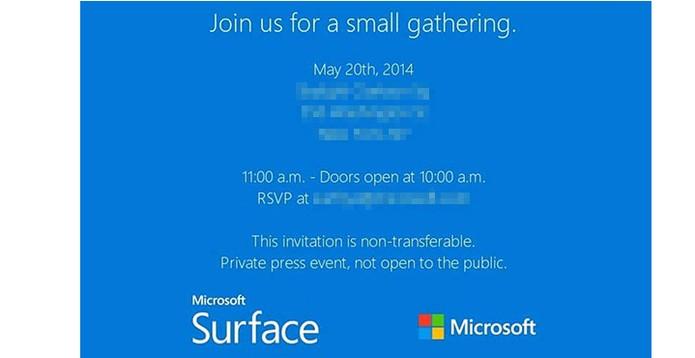 Convite evento Microsoft (Foto: Reprodução/ Microsoft)