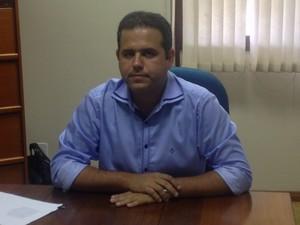 Bruno Mineiro, secretário estadual de transportes  (Foto: John Pacheco/G1)