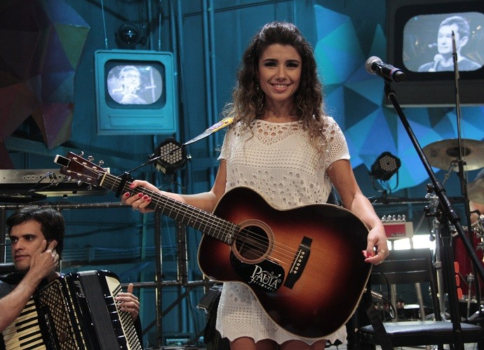 Paula Fernandes (Foto: Marcos Mazzini/Gshow)