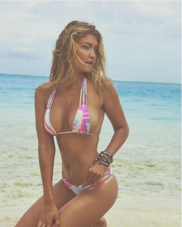 A modelo Gigi Hadid (Foto: Instagram)