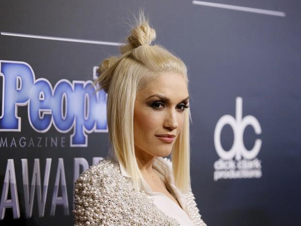 Gwen Stefani em prêmio em Los Angeles, nos Estados Unidos (Foto: Danny Moloshok/ Reuters)