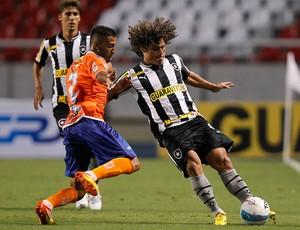 Jefinho e Márcio Azevedo, Botafogo x Duque de Caxias (Foto: Wagner Meier/AGIF)