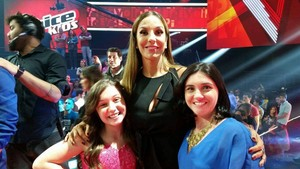 Pérola Crepaldi Ivete Sangalo The Voice Kids (Foto: Arquivo pessoal)