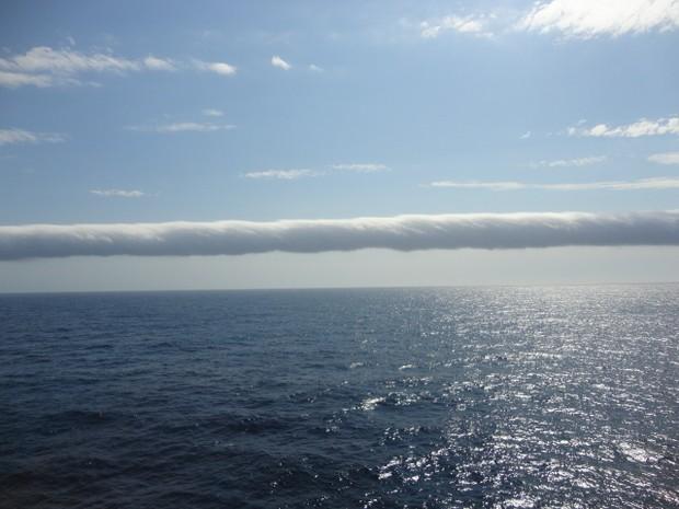 Operadores de plataforma de gás chegaram a pesquisar sobre a nuvem (Foto: Robson Gomes / VC no G1)