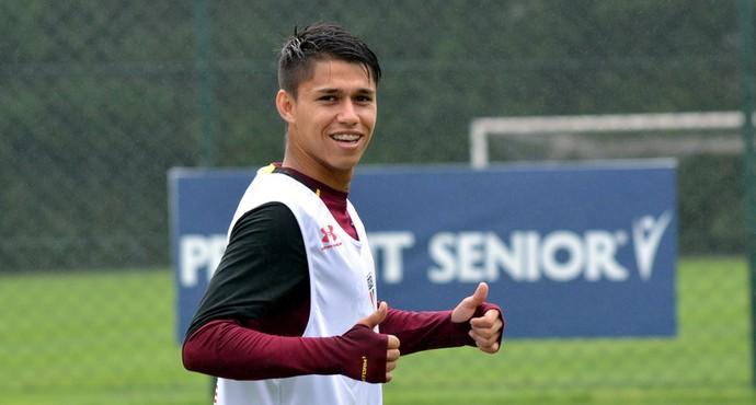 Luiz Araújo São Paulo (Foto: Erico Leonan - site oficial do São Paulo FC)