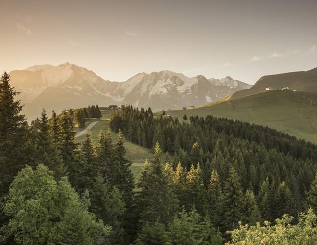 Four Seasons Hotel Megeve, nos Alpes Franceses (Foto: reprodução)