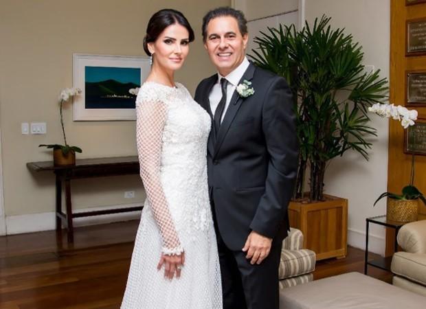 Lisandra Souto e o empresário Gustavo Fernandes (Foto: Reprodução/Instagram)