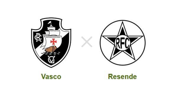 Jogo entre Vasco e Resende acontece em São Januário (Foto: Reprodução)