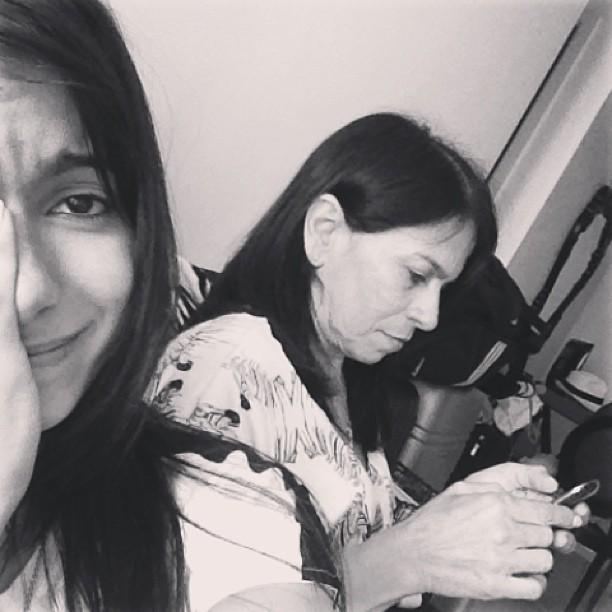 Anitta com a mãe (Foto: Reprodução_Instagram)