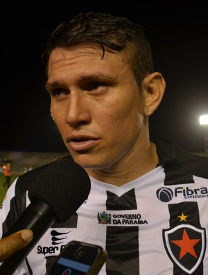 Rafael Oliveira, Botafogo-PB (Foto: Amauri Aquino / GloboEsporte.com)