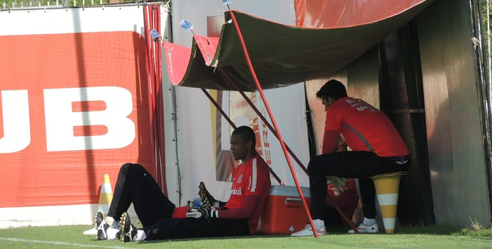 Alisson Dida Inter (Foto: Tomás Hammes / GloboEsporte.com)