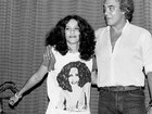 Gal Costa e Gilberto Gil parabenizam Erasmo Carlos pelos 75 anos