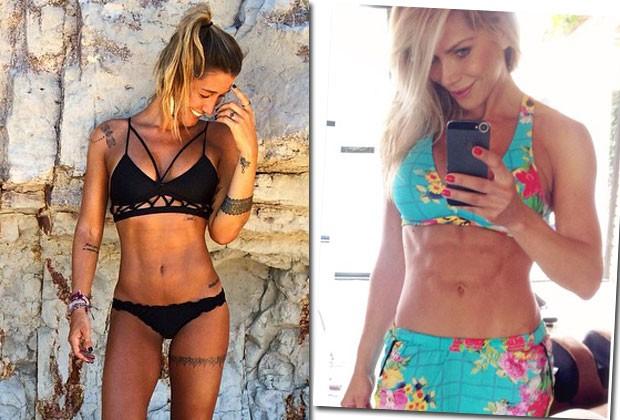 Musas fitness do momento, Karina Bacchi e Gabriela Pugliesi dão 5 dicas para manter a boa forma no verão