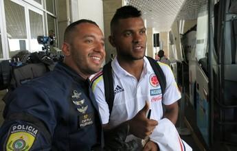 Borja não fala sobre futuro, mas espera torcida do Palmeiras diante do Brasil